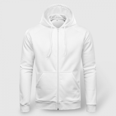 Men's Basic Zip-Up Hoodies