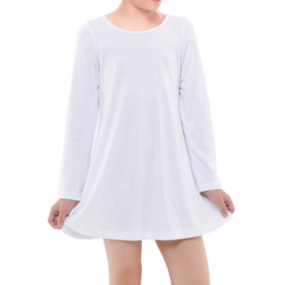 Girls' Long Sleeve Dress