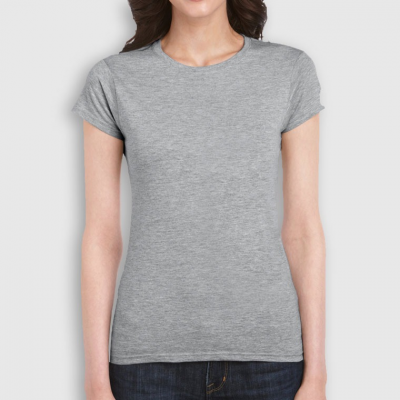 Women's Premium Round Collar T-Shirts
