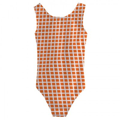 Girls' Cut-Out Back One Piece Swimsuit