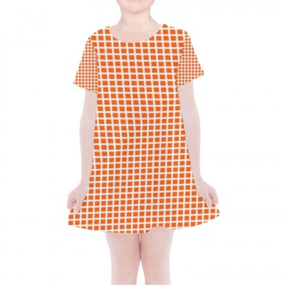 Girls' Simple Cotton Dress