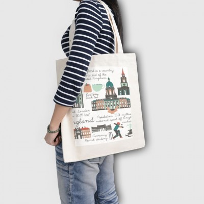 White-Tote Bag