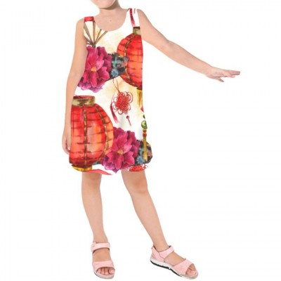 Girls' Sleeveless Dress