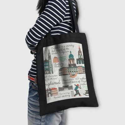 Black-Tote Bag