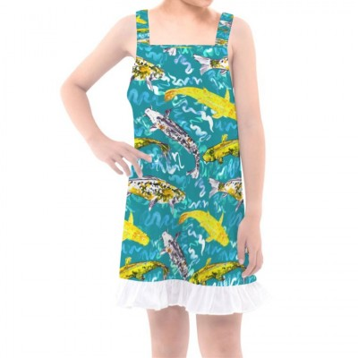 Girls' Overall Dress