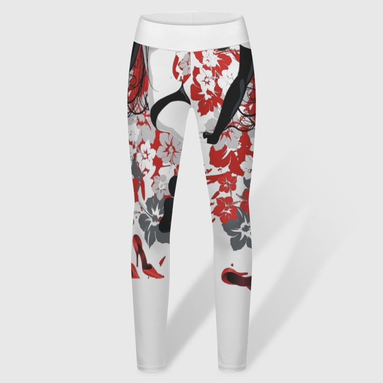 Women's Yoga Pants-front
